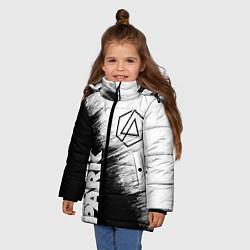 Куртка зимняя для девочки LINKIN PARK 3 цвета 3D-черный — фото 2