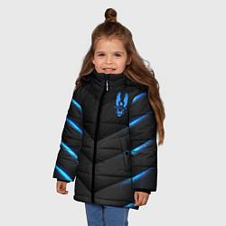 Куртка зимняя для девочки Halo цвета 3D-черный — фото 2