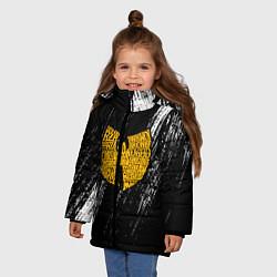 Куртка зимняя для девочки Wu-Tang Clan цвета 3D-черный — фото 2