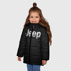Куртка зимняя для девочки Jeep Z цвета 3D-черный — фото 2