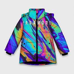Куртка зимняя для девочки PARAMORE цвета 3D-черный — фото 1