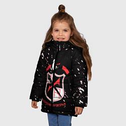 Куртка зимняя для девочки Danganronpa цвета 3D-черный — фото 2