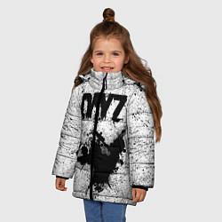 Детская зимняя куртка для девочки с принтом DayZ, цвет: 3D-черный, артикул: 10287273306065 — фото 2