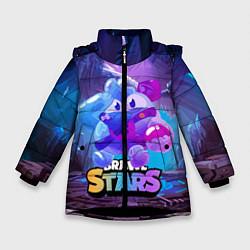 Зимняя куртка для девочки Сквик Squeak Brawl Stars