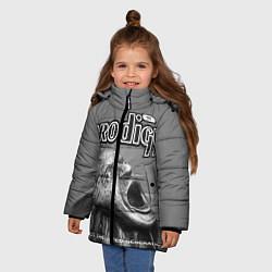 Куртка зимняя для девочки The Prodigy: Madness цвета 3D-черный — фото 2