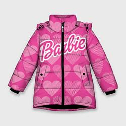 Куртка зимняя для девочки Barbie цвета 3D-черный — фото 1