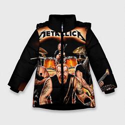 Куртка зимняя для девочки Metallica Band - фото 1