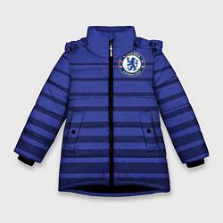 Куртка зимняя для девочки Chelsea: Diego Gosta цвета 3D-черный — фото 1