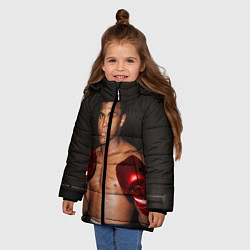 Куртка зимняя для девочки Мухаммед Али - фото 2