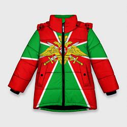 Куртка зимняя для девочки Флаг ПВ цвета 3D-черный — фото 1