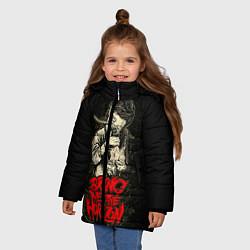 Детская зимняя куртка для девочки с принтом Bring Me The Horizon, цвет: 3D-черный, артикул: 10073644106065 — фото 2