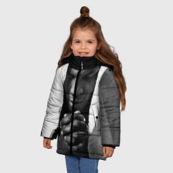 Куртка зимняя для девочки Майк Тайсон - фото 2
