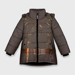 Зимняя куртка для девочки Шинель