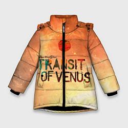 Куртка зимняя для девочки TDG: Transin of Venus цвета 3D-черный — фото 1