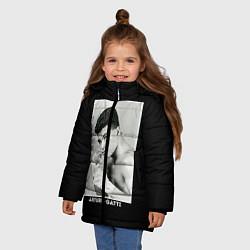 Куртка зимняя для девочки Arturo Gatti: Photo цвета 3D-черный — фото 2
