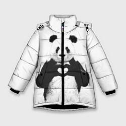 Зимняя куртка для девочки Panda Love