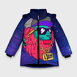 Зимняя куртка для девочки Лев SWAG