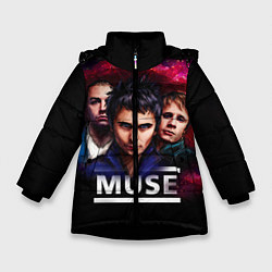 Куртка зимняя для девочки Muse Band - фото 1
