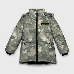 Куртка зимняя для девочки A II + цвета 3D-черный — фото 1