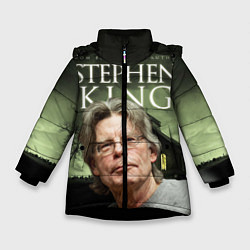 Куртка зимняя для девочки Bestselling Author цвета 3D-черный — фото 1