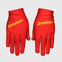 Перчатки Baywatch цвета 3D-принт — фото 1