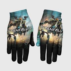 Перчатки Titanfall Battle цвета 3D-принт — фото 1