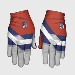 Перчатки Atletico FC: Grey style цвета 3D — фото 1