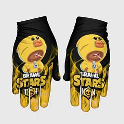 Перчатки BRAWL STARS SALLY LEON цвета 3D — фото 1