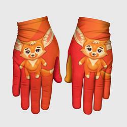 Перчатки Лисичка цвета 3D — фото 1