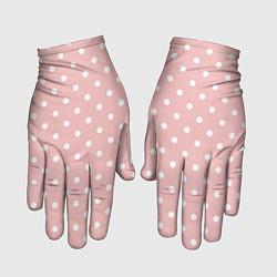 Перчатки Мелкий горох цвета 3D — фото 1