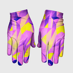 Перчатки Texture цвета 3D — фото 1