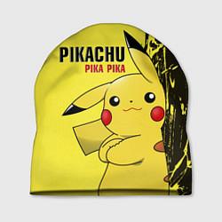 Шапка Pikachu Pika Pika цвета 3D-принт — фото 1