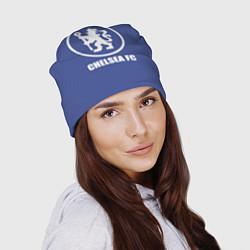 Шапка Chelsea FC цвета 3D — фото 2
