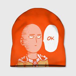 Шапка Saitama: Ok цвета 3D — фото 1