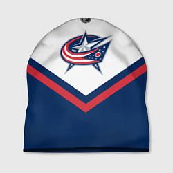 Шапка NHL: Columbus Blue Jackets цвета 3D-принт — фото 1
