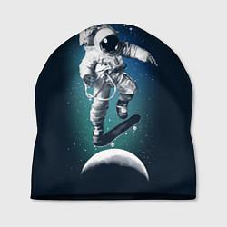 Шапка Космический скейтбординг цвета 3D-принт — фото 1