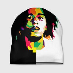 Шапка Bob Marley: Colors цвета 3D-принт — фото 1