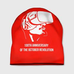 Шапка 100 лет революции цвета 3D — фото 1