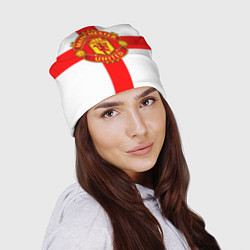 Шапка Manchester Utd: England цвета 3D — фото 2