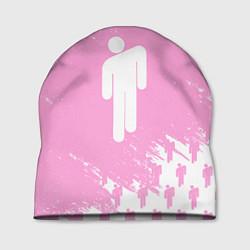 Шапка Billie Eilish: Pink Style цвета 3D-принт — фото 1