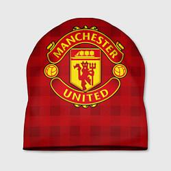 Шапка Manchester United цвета 3D — фото 1