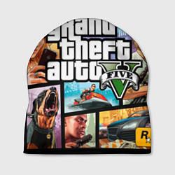 Шапка GTA 5: City Stories цвета 3D-принт — фото 1
