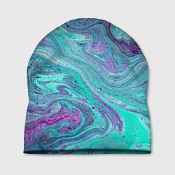Шапка Смесь красок цвета 3D — фото 1