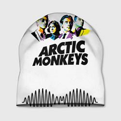 Шапка Arctic Monkeys: Music Wave цвета 3D-принт — фото 1