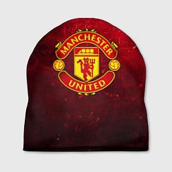 Шапка Манчестер Юнайтед цвета 3D-принт — фото 1