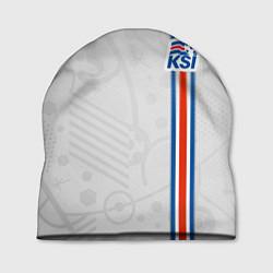 Шапка Сборная Исландии по футболу цвета 3D-принт — фото 1