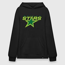 Толстовка-худи оверсайз Dallas Stars цвета черный — фото 1
