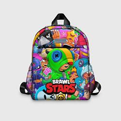 Детский рюкзак BRAWL STARS LEON цвета 3D-принт — фото 1