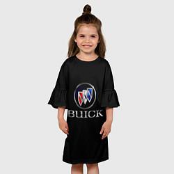 Платье клеш для девочки Buick цвета 3D — фото 2