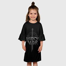 Платье клеш для девочки Shadow of War цвета 3D — фото 2